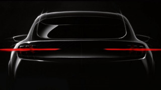 Ford crossover EV teaser photo