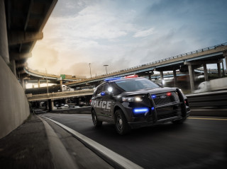 2020 Ford Explorer cop car revealed: Memorize these headlights