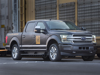 Ford F-Series electric truck prototype