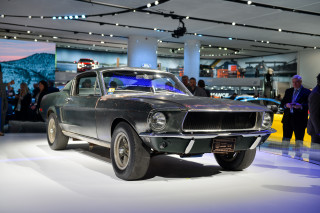 "1968 Ford Mustang from the Steve McQueen movie ""Bullitt"""