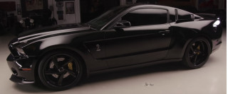 Jim Caviezel's 2014 Ford Shelby GT500 Super Snake storms into Jay Leno's Garage