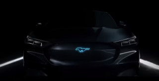 Ford teases V-8-powered Mustang hybrid, could be called Mach 1