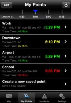 Ford SYNC Destinations app