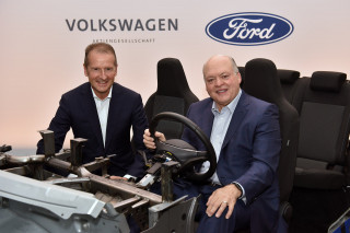 Ford, VW announce multibillion-dollar partnership for self-driving cars and electric cars