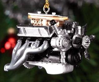 Ford 427 X-mas tree ornament