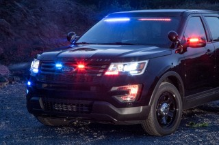Ford Police Interceptor Utility Front Interior Visor Light Bar