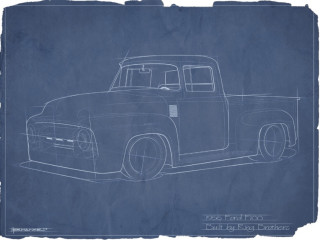 Ring Brothers 1956 Ford F-100 Clem 101