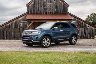 2019 Ford Explorer Limited Luxury Edition