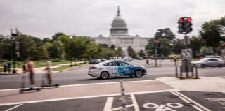Ford self-driving cars in Washington DC