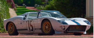 1965 Ford GT40 Prototype Roadster, Ferrari LaFerrari Aperta highlight Mecum Kissimmee auction