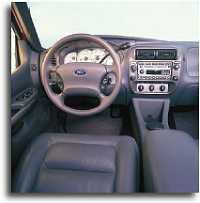 Ford Sport Trac Interior