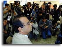 Ghosn And Reporters