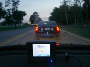 GM's vehicle-to-vehicle communication system