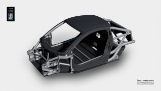 Gordon Murray Design's iStream Superlight tech can cut car weight in half