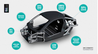 British engineering firm brings lightweight race car design to production cars