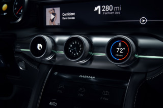 Harmon digital cockpit revealed at CES 2018
