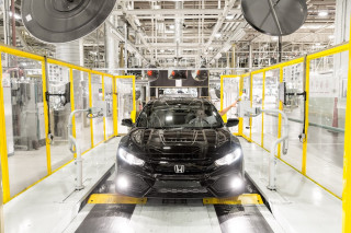 Honda Civic hatchback production in Swindon, UK