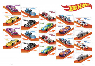 Hot Wheels stamps help celebrate 50 years of the toy car