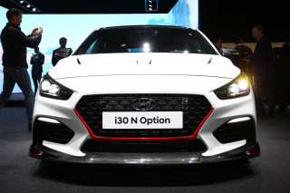 Hyundai i30 N Option concept, 2018 Paris auto show