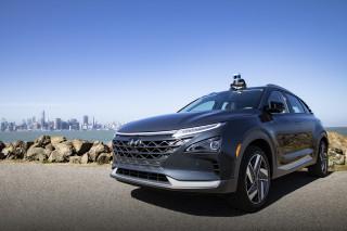 Hyundai Nexo with Aurora Innovation self-driving technology