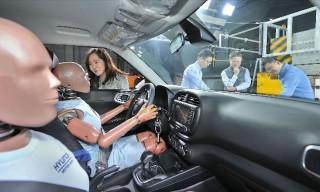 Hyundai multi-collision airbag system