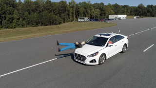IIHS tests pedestrian detection in 2019 Hyundai Sonata