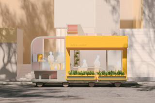 IKEA Space10 Autonomous Cafe Concept