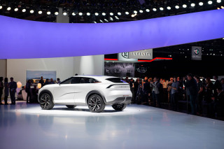 Infiniti QX Inspiration concept sets design direction for brand's electric future
