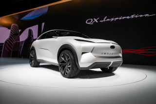 Infiniti QX Inspiration SUV concept debuts in Detroit, heralds brand's electric future
