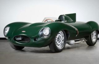 Jaguar D-Type XKD 510 - Mossgreen auction photos