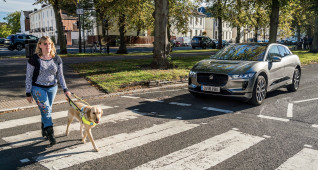 Listen to the Jaguar I-Pace's audible vehicle alert