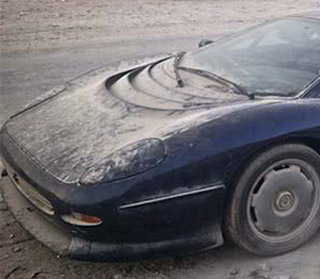 Rare Jaguar Supercar Abandoned In Desert