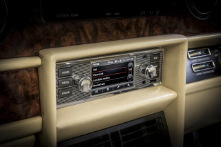 Modern infotainment comes to classic Jaguars and Land Rovers