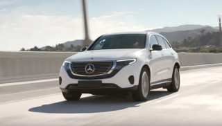 Jay Leno drives the 2020 Mercedes-Benz EQC400