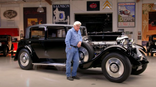 Jay Leno with his 1931 Bentley 8 Litre