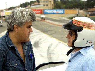 Jay Leno and Jackie Stewart