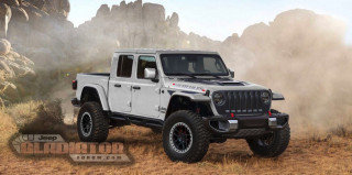 Rendering of Jeep Gladiator Hercules Photo: Jeep Gladiator Forum