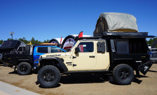 Duratrac two-door Jeep Gladiator with Hellcat engine