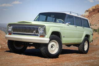 Jeep Wagoneer Roadtrip concept, 2018 Moab Easter Jeep Safari