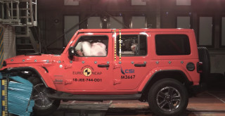 2018 Jeep Wrangler fails European crash test