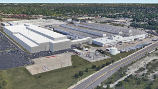Rendering of FCA Mack Avenue production plant for Jeep Grand Cherokee production