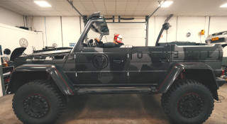 Jon Olsson cut the roof off his Mercedes-AMG G500 4×4