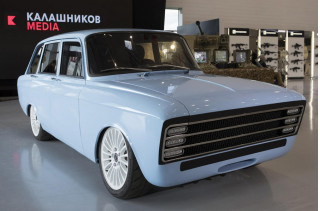 Kalashnikov CV-1 electric car