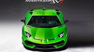 Lamborghini Aventador SVJ first look