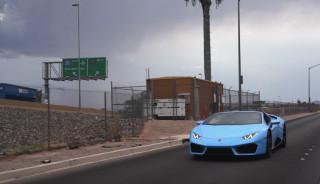 Lamborghini Huracán oil change