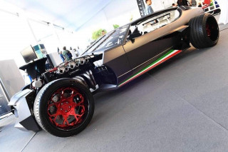 1970 Lamborghini Espada hot rod by Danton Arts Kustoms
