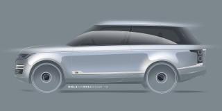 Land Rover Range Rover Adventum coupe by Niels van Roij design