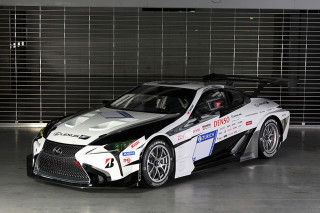 Toyota Gazoo Racing Lexus LC race car