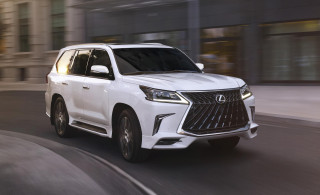 2020 Lexus LX 570 Sport is a three-row, six-figure luxury bus for up to eight