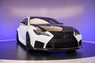 2020 Lexus RC F Track Edition, 2019 Detroit auto show